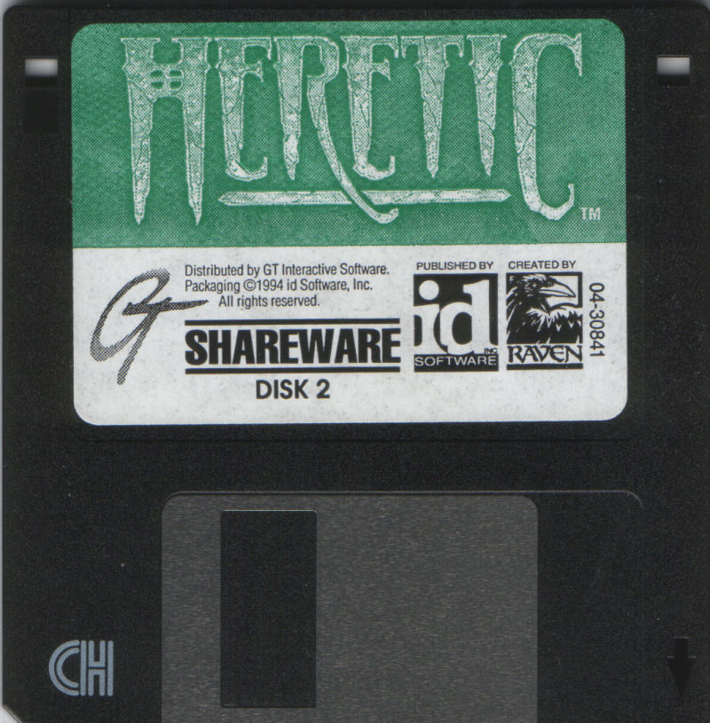 Heretic DOS Media Disk 2/2