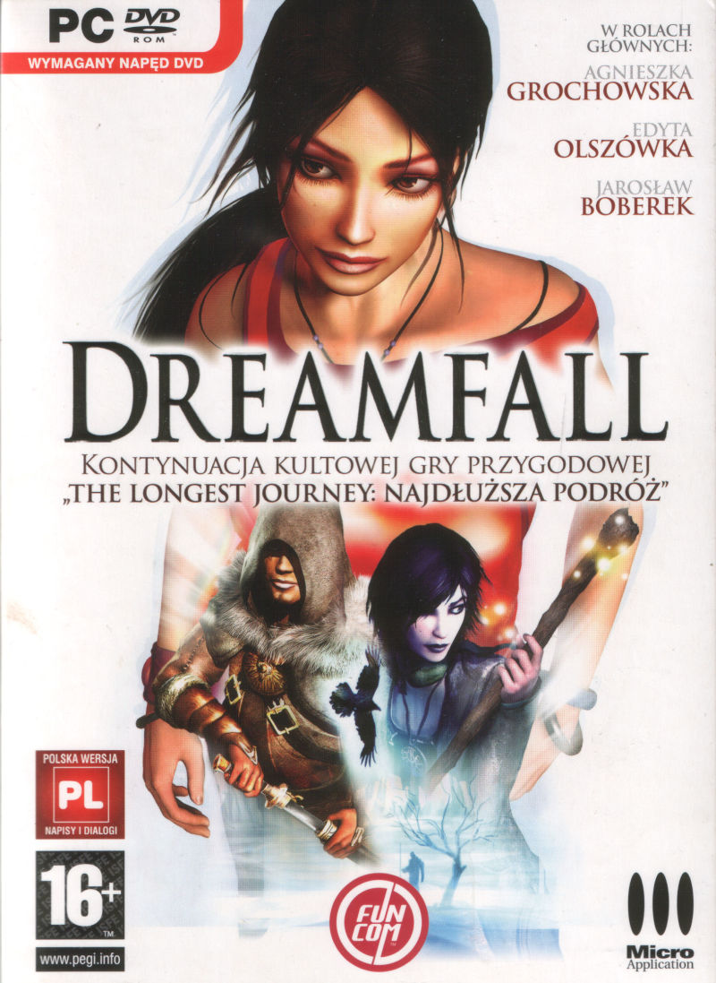 Dreamfall: The Longest Journey Windows Front Cover
