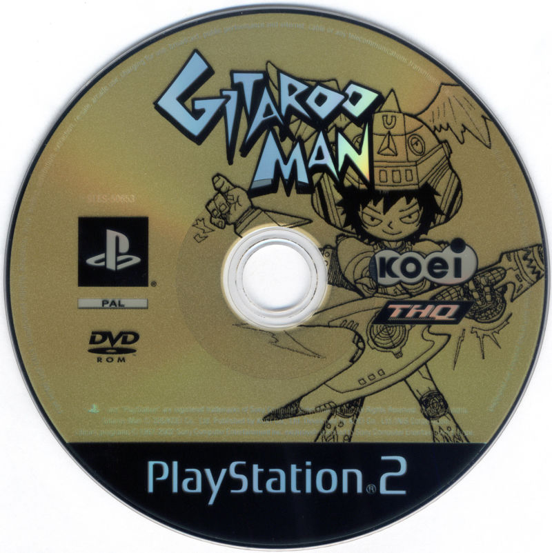 Gitaroo Man PlayStation 2 Media