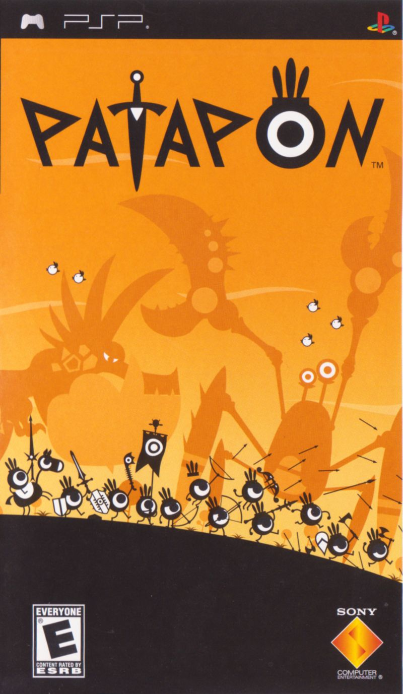 Patapon PSP Front Cover