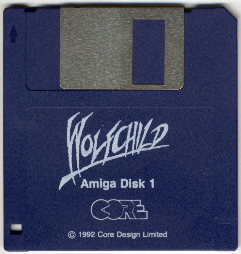 Wolfchild Amiga Media