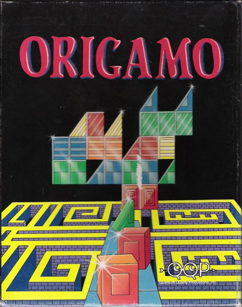 Origamo DOS Front Cover