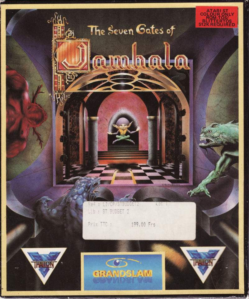 The Seven Gates of Jambala Atari ST Front Cover