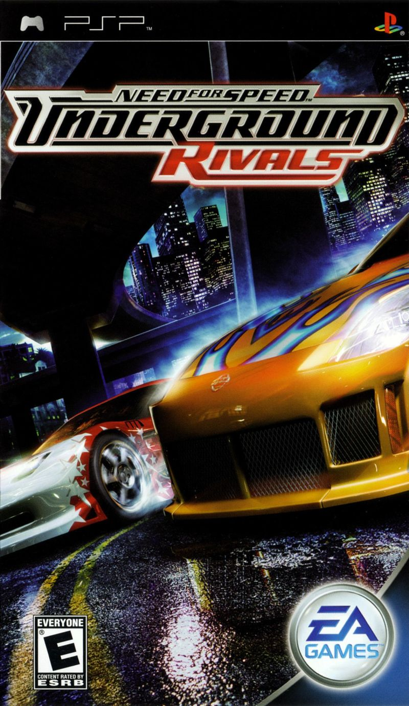 Need For Speed Underground Rivals For Psp 2005 Mobyrank