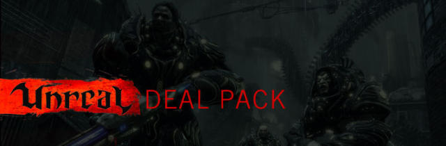 Unreal Deal Pack Windows Front Cover