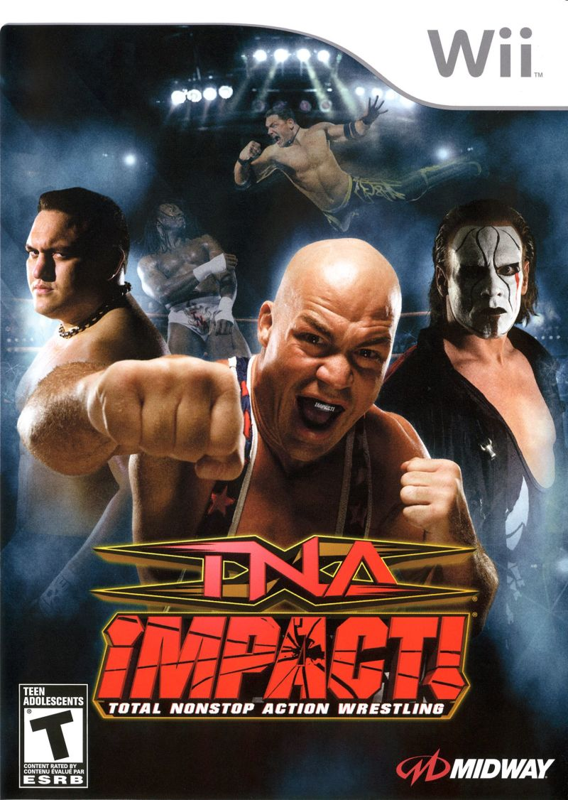 TNA iMPACT! Wii Front Cover