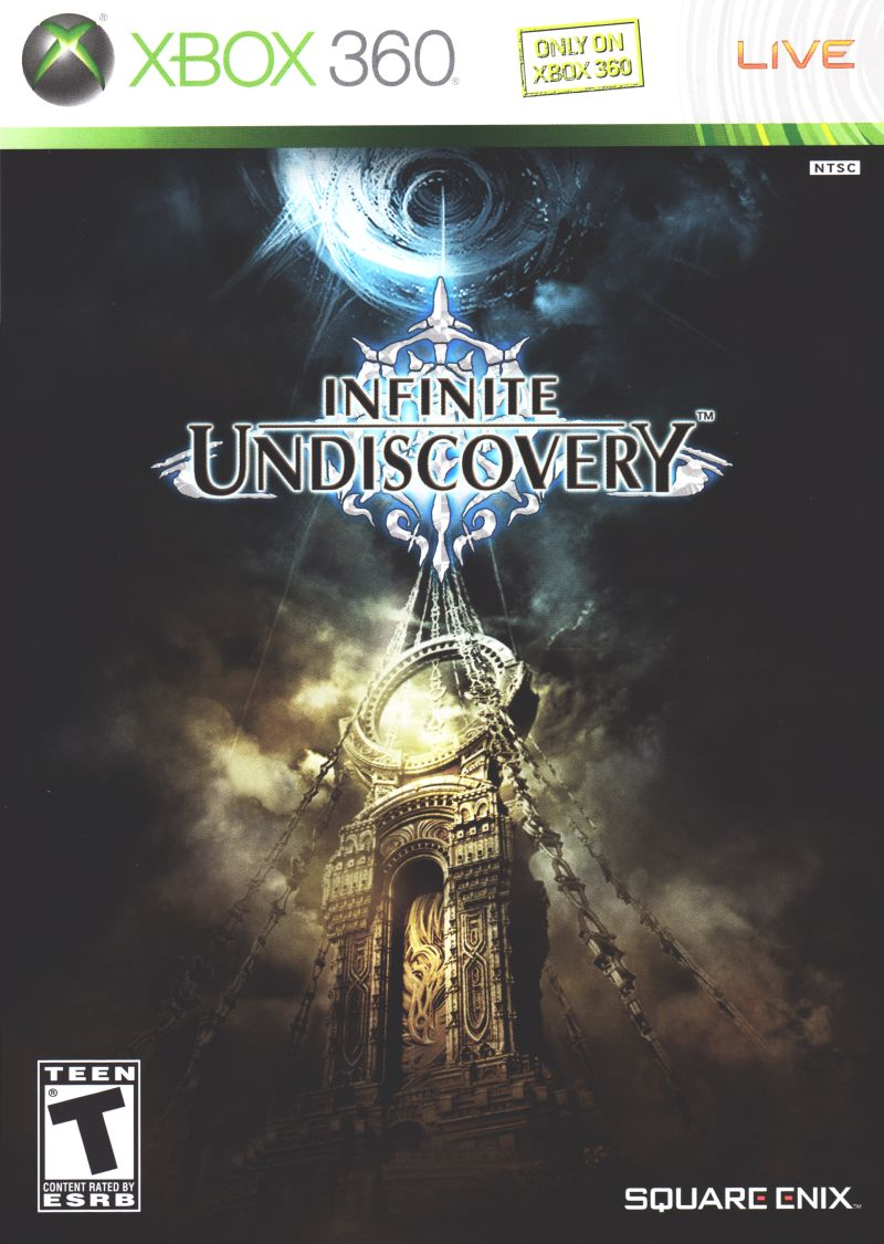 Infinite Undiscovery Xbox 360 Front Cover