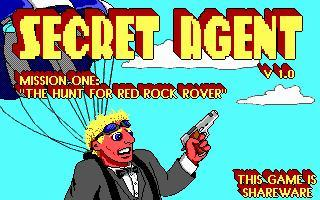 Secret Agent DOS Front Cover