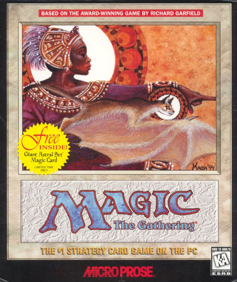 Magic: The Gathering Windows Front Cover