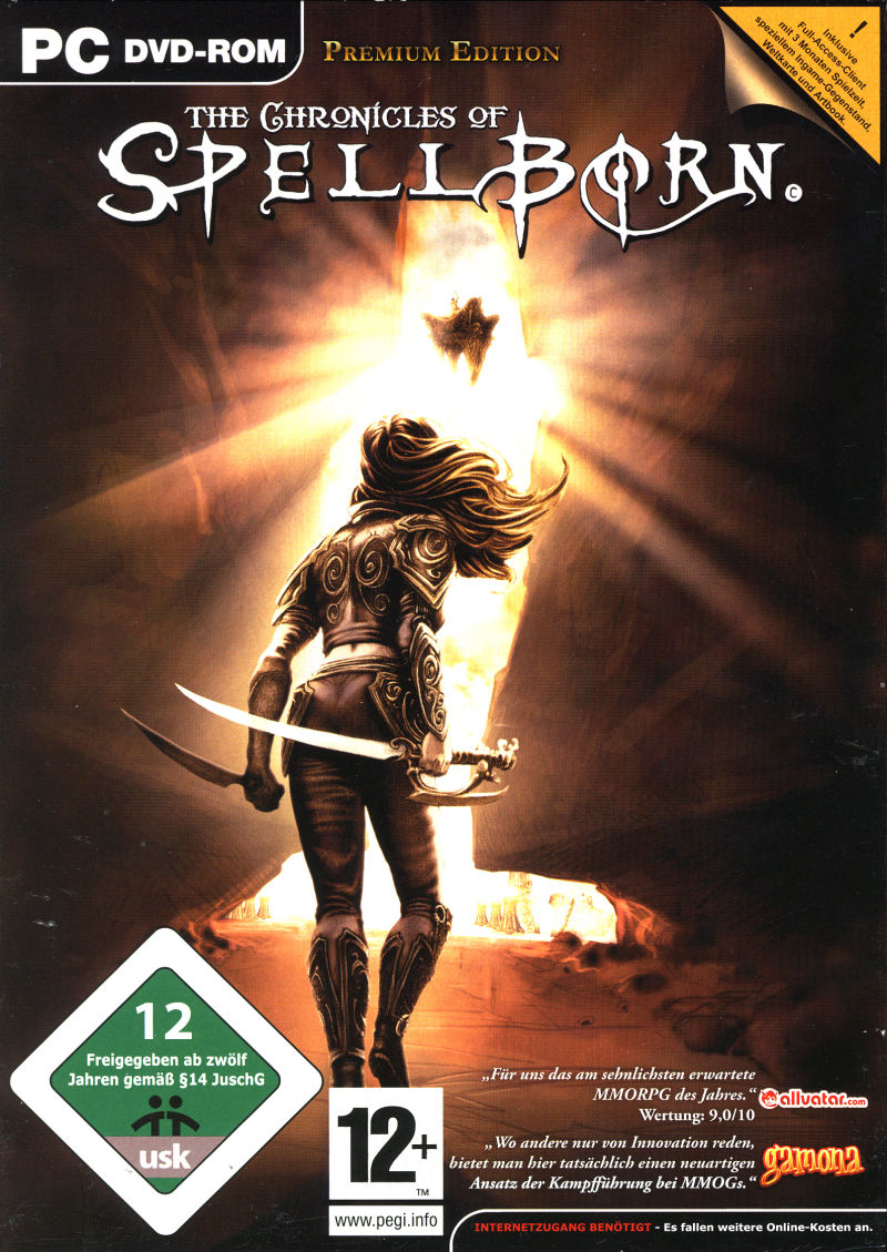The Chronicles of Spellborn (Premium Edition) Windows Front Cover