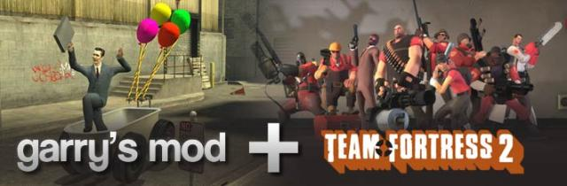 Garry's Mod + Team Fortress 2