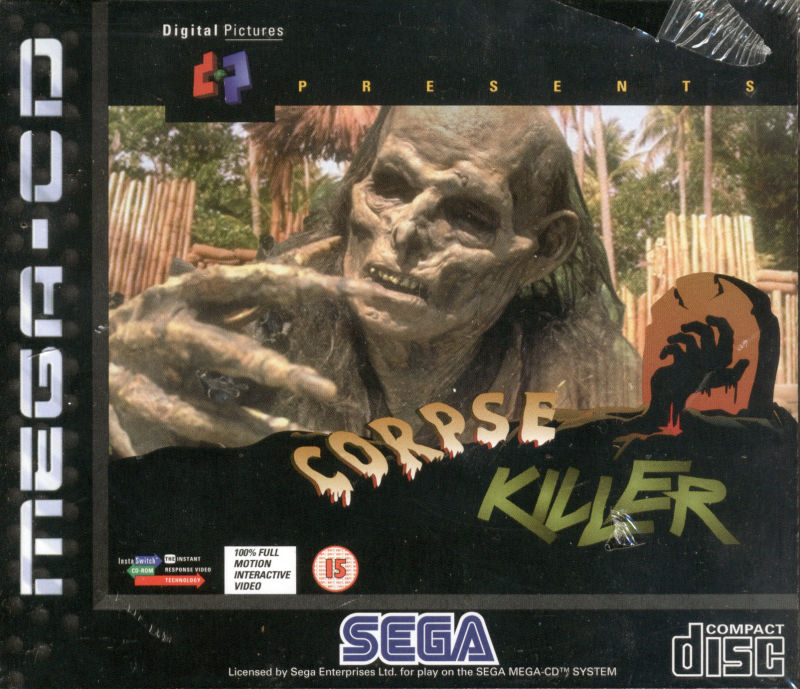 Corpse Killer SEGA CD Front Cover
