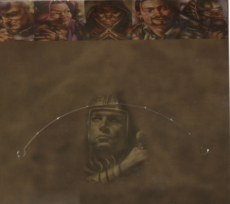 Baldur's Gate Windows Other Inside Sleeve - Disc 1