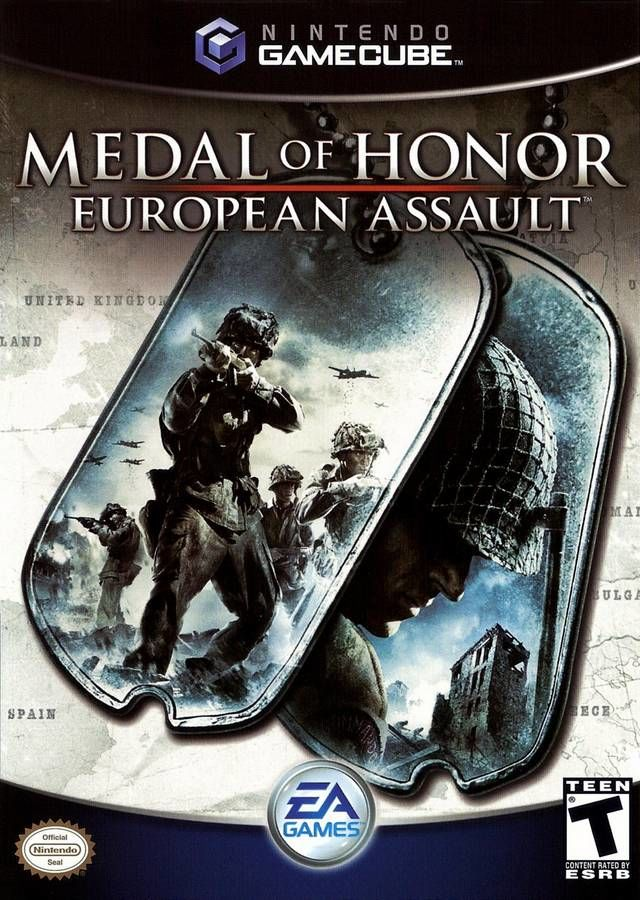 Medal of Honor: European Assault GameCube Front Cover