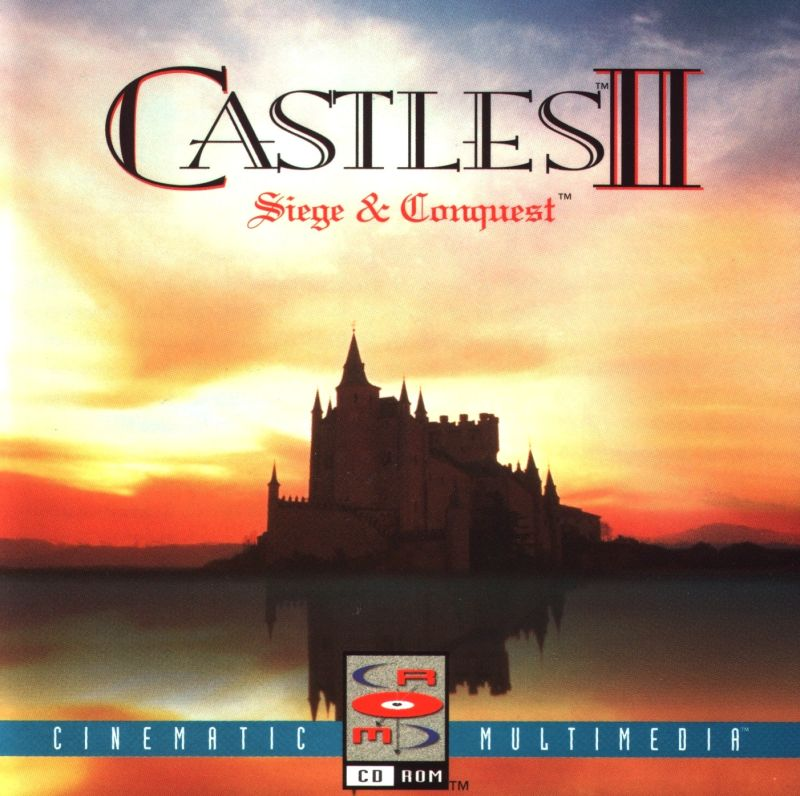 Castles II: Siege & Conquest DOS Other Jewel Case - Front