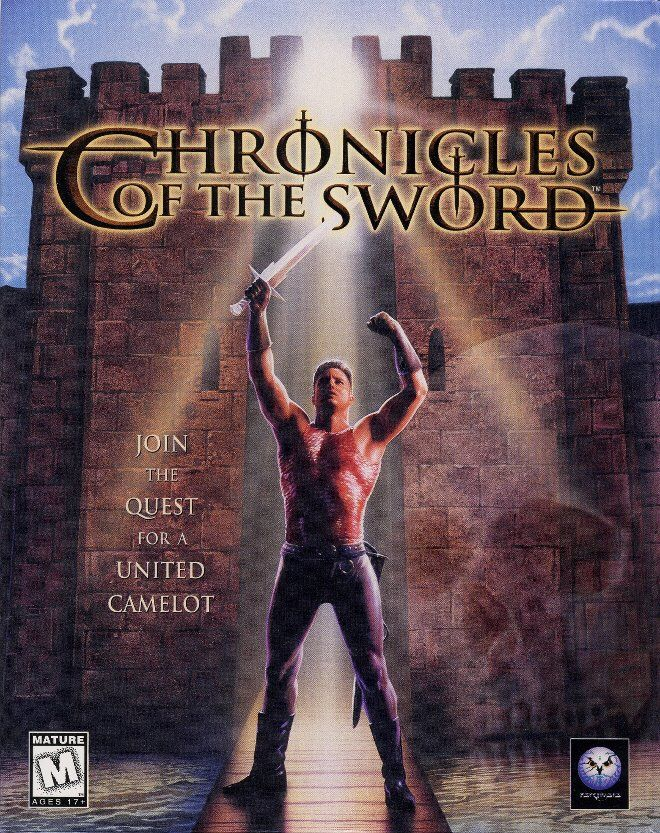 Chronicles of the Sword DOS Front Cover