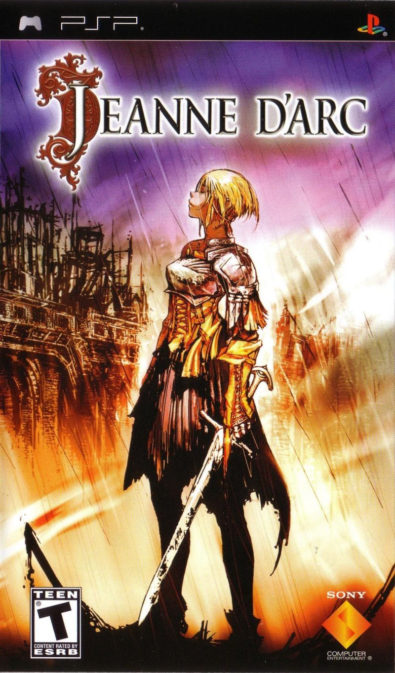 Jeanne d'Arc for PSP (2006) - MobyGames