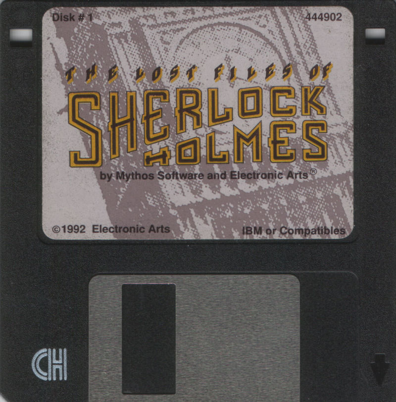 The Lost Files of Sherlock Holmes DOS Media Disk 1/9