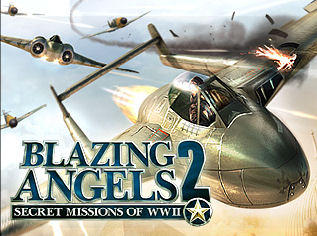Blazing Angels 2: Secret Missions of WWII Windows Front Cover