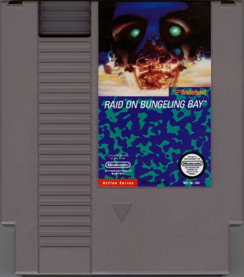 Raid on Bungeling Bay NES Media