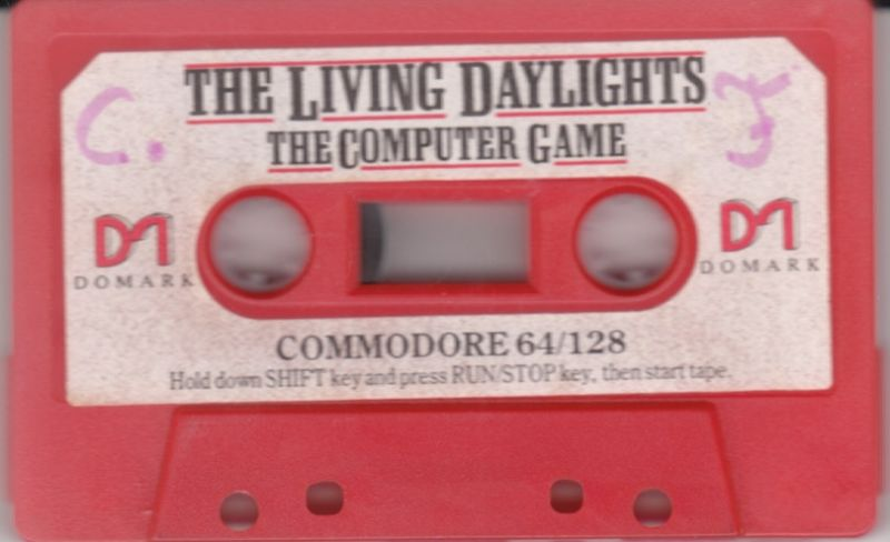 James Bond 007 in The Living Daylights: The Computer Game Commodore 64 Media