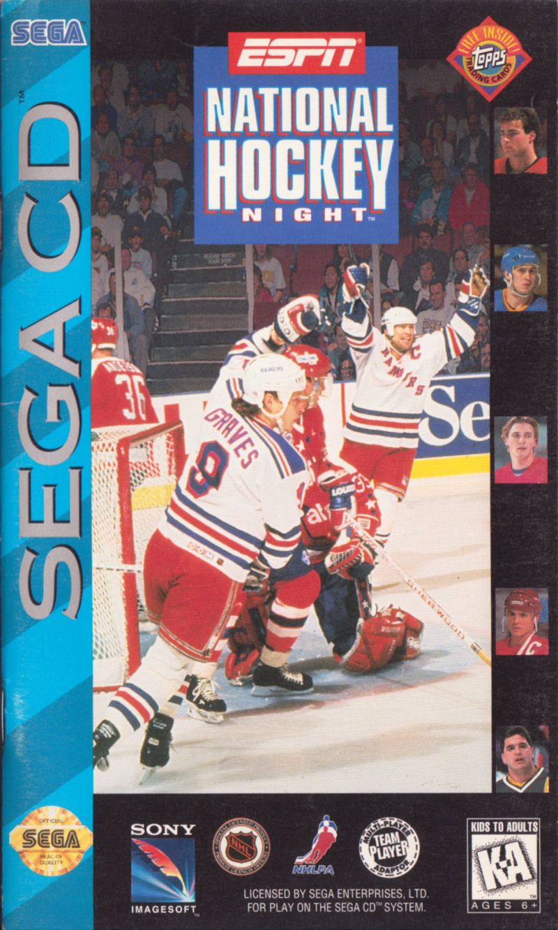 Espn National Hockey Night 1994 Mobygames