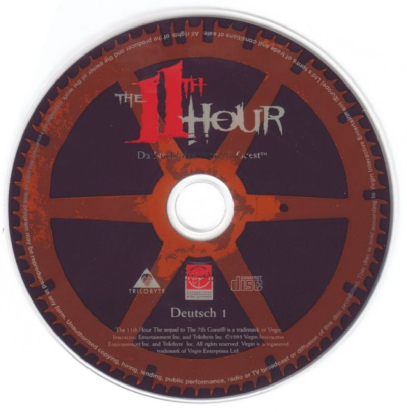 The 11th Hour DOS Media Disc 1/4