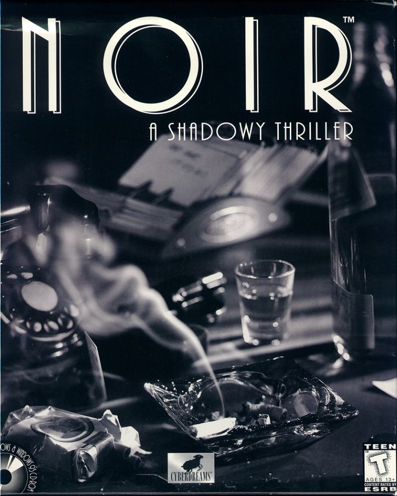Noir: A Shadowy Thriller Windows 3.x Front Cover