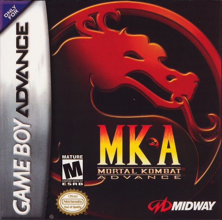 Ultimate Mortal Kombat 3 Game Boy Advance Front Cover