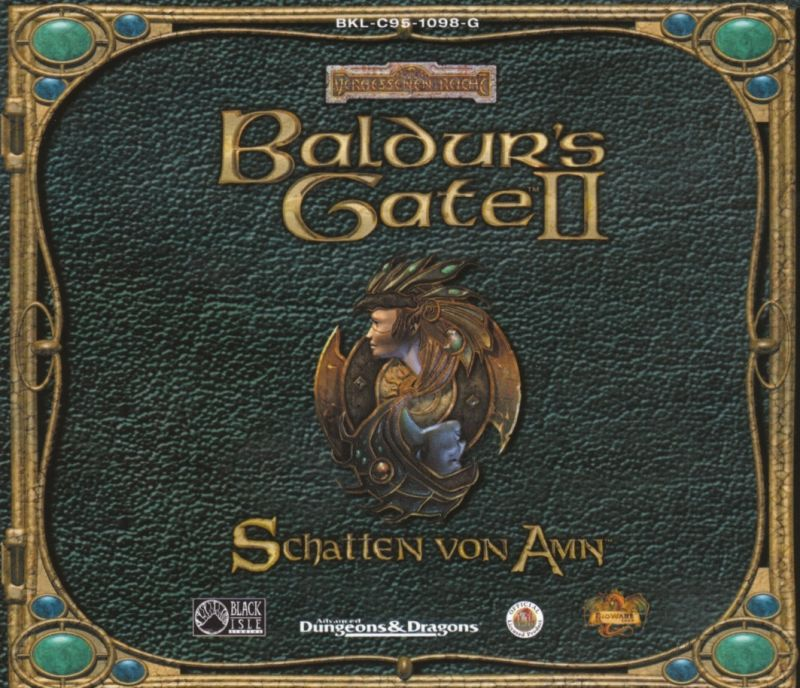 Baldur's Gate II: Shadows of Amn Windows Other Jewel Case - Front