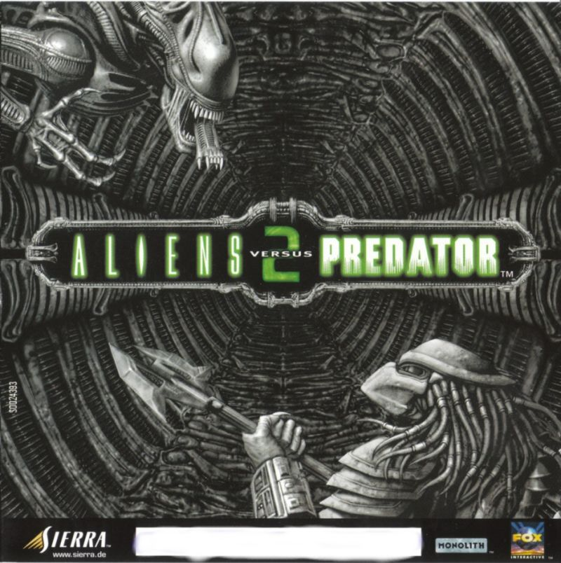 Aliens Versus Predator 2 Windows Other Jewel Case - Front