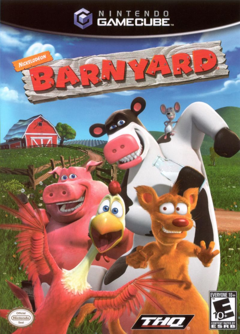 Barnyard GameCube Front Cover