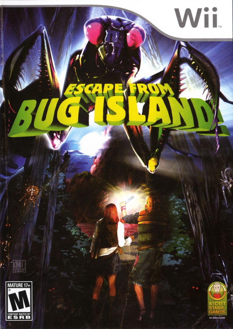 Escape from Bug Island Wii Front Cover