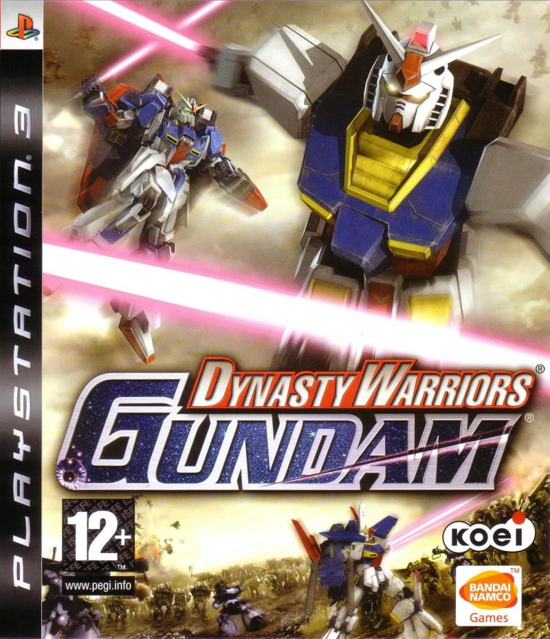 Dynasty Warriors: Gundam PlayStation 3 Front Cover