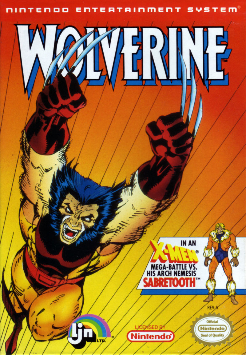 Wolverine NES Front Cover