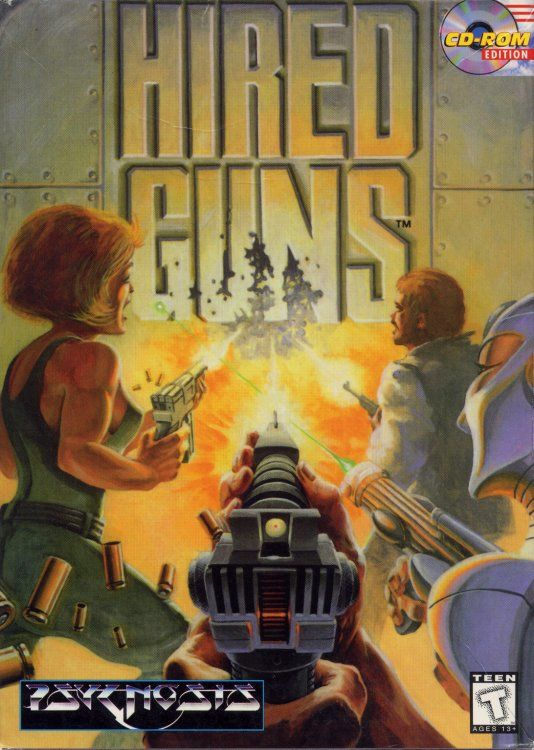 Hired Guns for Amiga (1993) - MobyGames