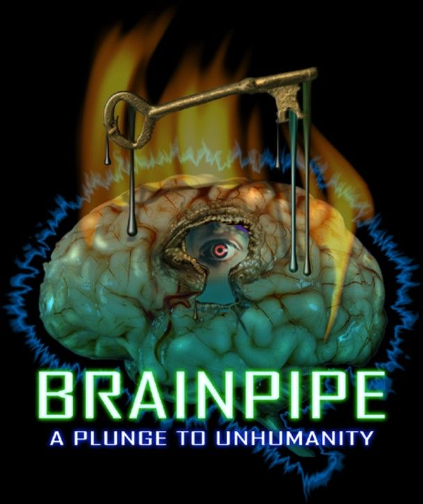 Brainpipe: A Plunge to Unhumanity Macintosh Front Cover