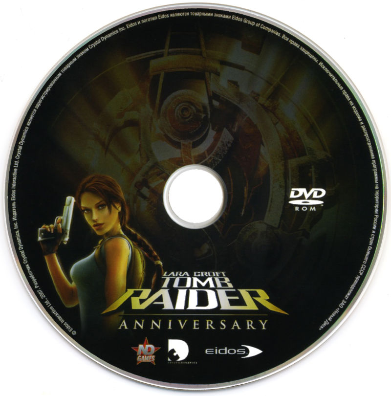 Lara Croft Tomb Raider: Anniversary Windows Media