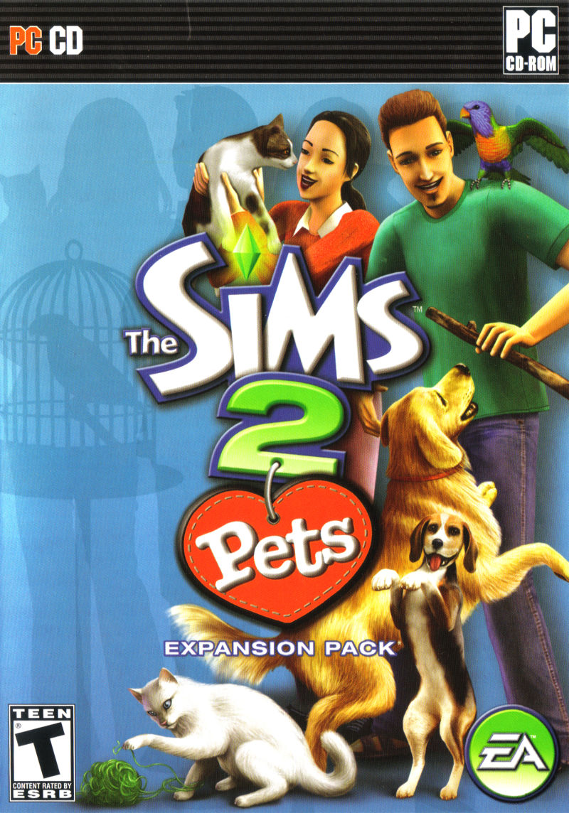 The Sims 2: Pets Windows Front Cover