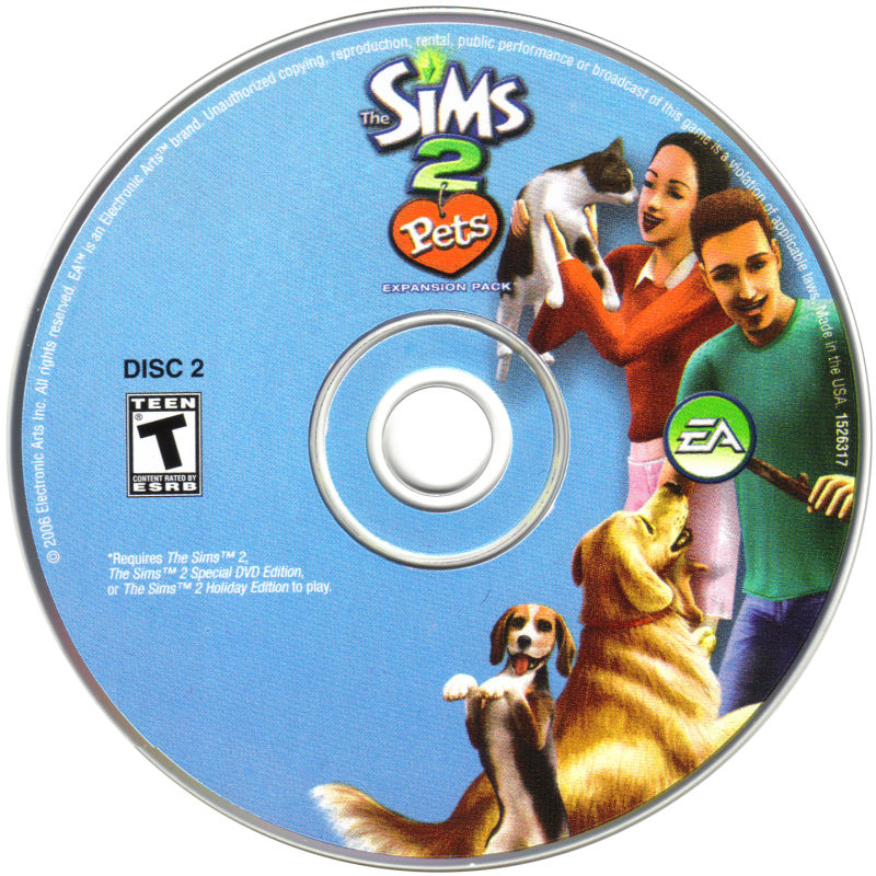 The Sims 2: Pets Windows Media Disc 2