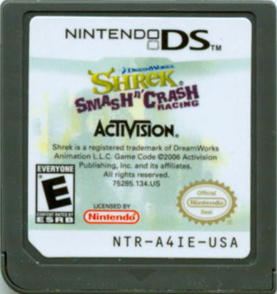 shrek smash n crash racing gamecube