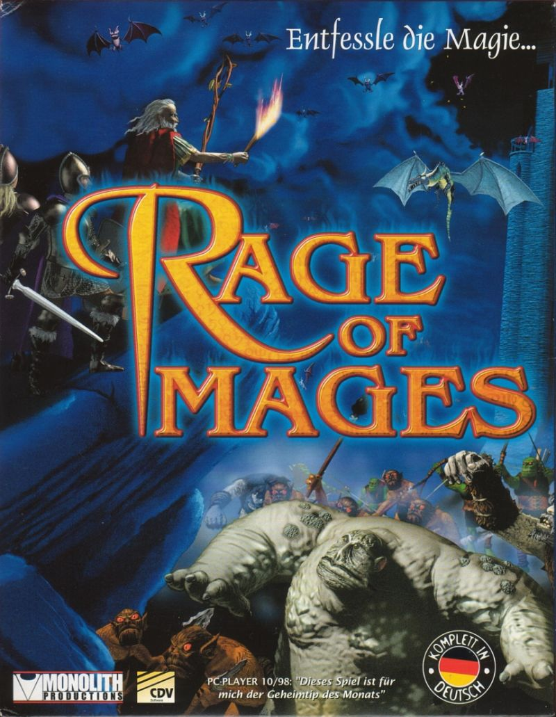 Rage of Mages Windows Front Cover