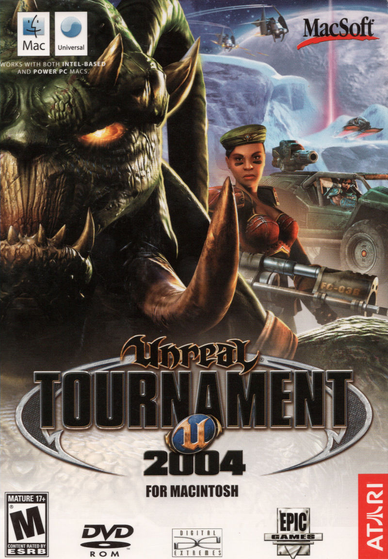 Unreal Tournament 2004 Macintosh Front Cover