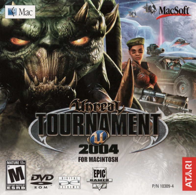 Unreal Tournament 2004 Macintosh Other Jewel Case - Front