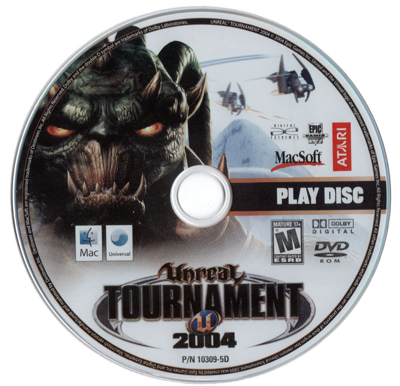 Unreal Tournament 2004 Macintosh Media