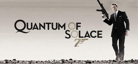 007 Quantum of Solace Windows Quantum Of Solace Cover