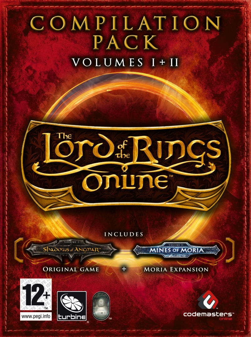 The Lord of the Rings Online: Compilation Pack - Volumes I+II Windows Front Cover