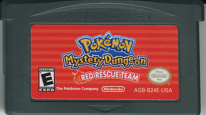 Pokémon Mystery Dungeon: Red Rescue Team Game Boy Advance Media