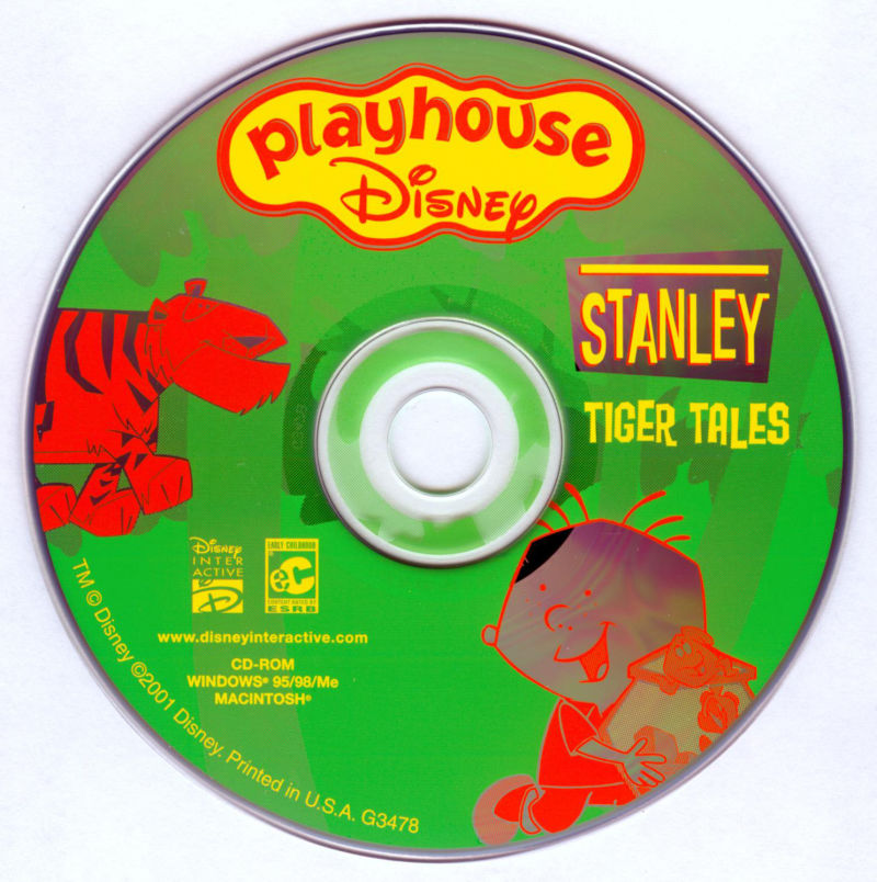 Playhouse Disney's: Stanley Tiger Tales (2001) Windows box