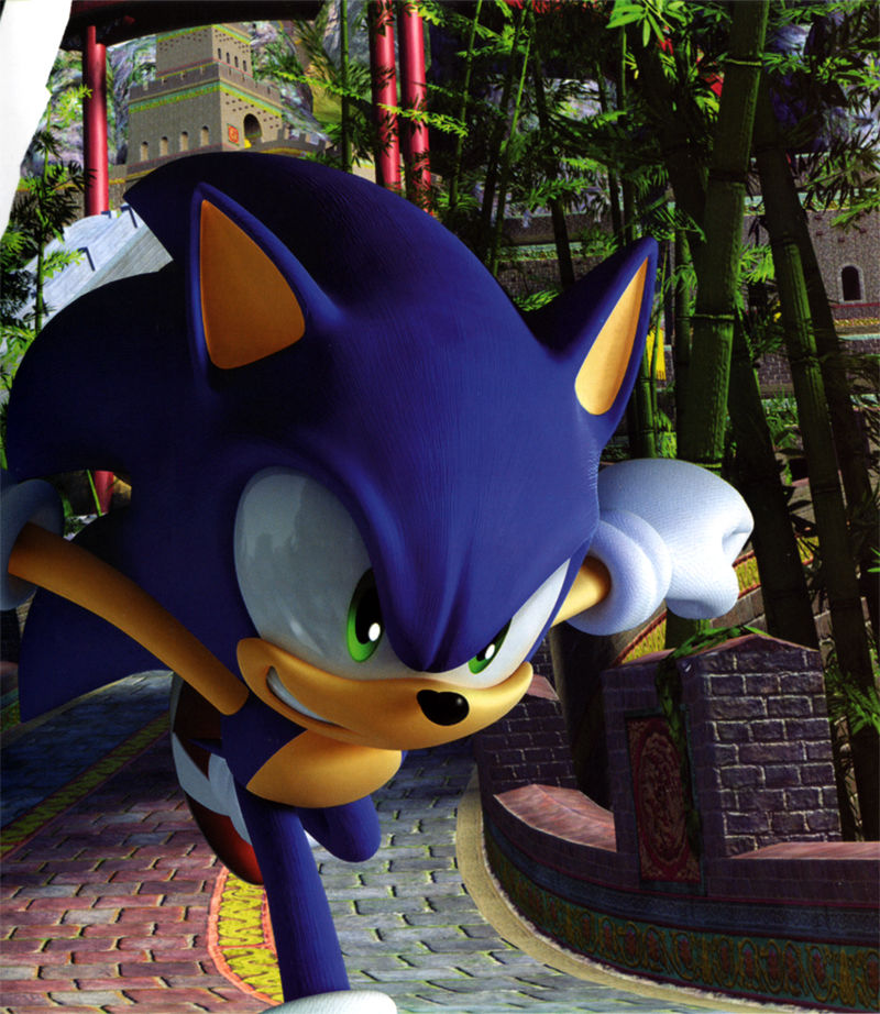 Sonic: Unleashed PlayStation 3 Inside Cover Right